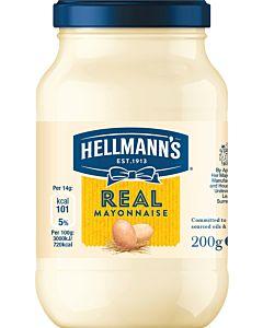 HELLMANN'S REAL MAJONEESI 200G