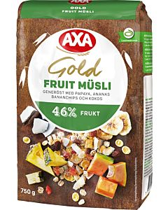 AXA GOLD FRUIT 750G