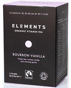 ELOMENTS ORGANIC VITAMIN TEA BOURBON VANILLA CHAI LUOMUTEE 14PSS/ 28G