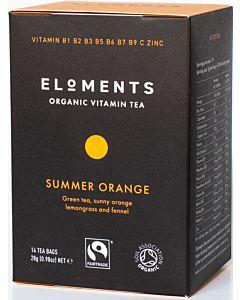 ELOMENTS ORGANIC VITAMIN TEA SUMMER ORANGE LUOMUTEE 14PSS/ 28G