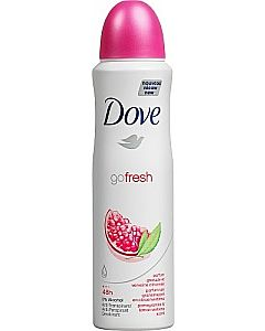 DOVE GO FRESH POMEGRANATE ANTIPERSPIRANT SPRAY 150ML