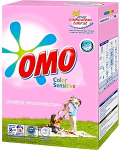 OMO 1,26KG SENSITIVE COLOR PYYKINPESUJA