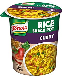KNORR 87G SNACK POT RISE CURRY GLUTEENITON