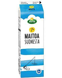 ARLA 1% MAITO SUOMI 1L