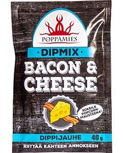 POPPAMIES BACON & CHEESE DIPPIMIX 40G