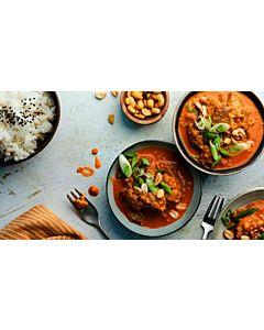 Resepti-Beanit® satay ja kookosriisi