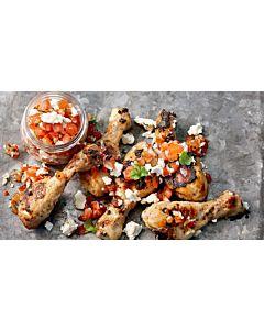 Resepti-Broileri pico de gallo