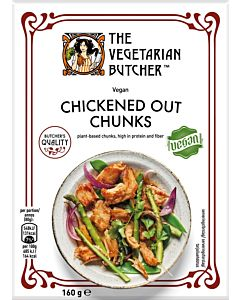 PAKASTE THE VEGETARIAN BUTCHER CHICKENED OUT CHUNKS 160G