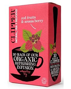 CLIPPER LUOMU HEDELMÄ & ARONIA TEE  20PSS/50G