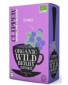 CLIPPER LUOMU WILD BERRY TEE 20PSS/60G