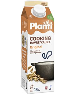 PLANTI COOKING KAURA ORIGINAL 15% 1L