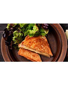 Resepti-Croque Monsieur - lämmin juusto-kinkkuleipä