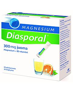 DIASPORAL MAGNESIUM 300MG ANNOSPUSSI 20KPL/100G