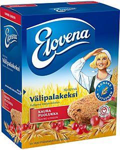 ELOVENA 10X30G KAURA-PUOLUKKA VÄLIPALAKEKSI