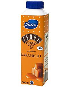 VALIO FANNY VANUKAS KARAMELLI 500G LAKTOOSITON