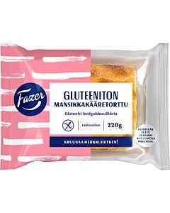 FAZER GLUTEENITON MANSIKKAKÄÄRETORTTU 220G