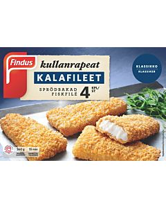 PAKASTE FINDUS 360G KULLANRAPEAT KALAFILEET