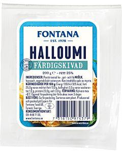FONTANA HALLOUMI VIIPALOITU 200G