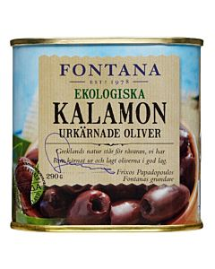 FONTANA LUOMU OLIIVI KALAMATA KIVETÖN 290/130G