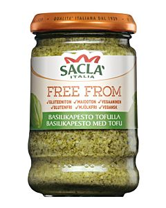 SACLA 190G FREE FROM BASILIKA PESTO TOFULLA