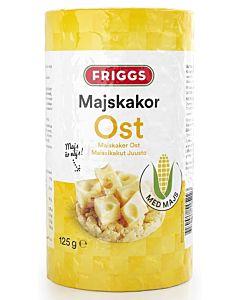 FRIGGS  MAISSIKAKKU JUUSTO 125G GLUTEENITON
