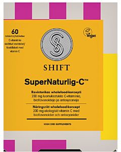 SHIFT SUPER NATURLIG-C 60KPL