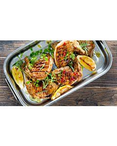 Resepti-Grillattu chilibroileri ja couscoussalaatti