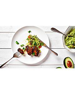 Resepti - Grillattua porsaan sisäfileetä ja guacamolea