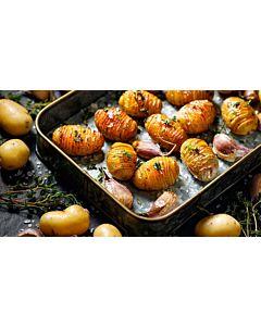 Resepti-Grillatut Hasselbackan perunat