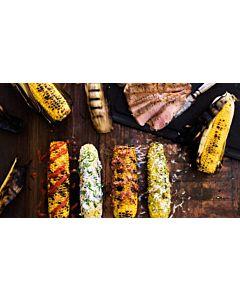 Resepti-Grillatut maissintähkät neljällä tavalla