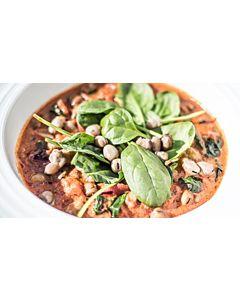 Resepti-Härkäpapucurry keitto