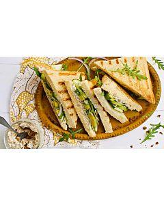 Resepti-Kolmioleivät Härkis Indian Curry