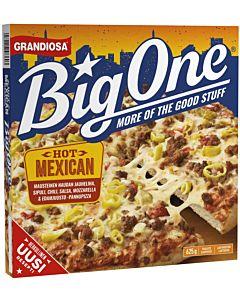 PAKASTE GRANDIOSA BIG ONE PANNUPIZZA HOT MEXICAN 625G