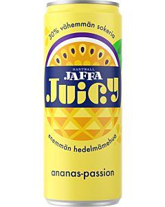 HARTWALL JAFFA JUICY ANANAS-PASSION 0,33L SLEEK TÖLKKI