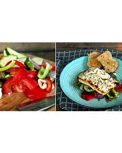 Resepti-Juustoa ja kasviksia grillinyytissä
