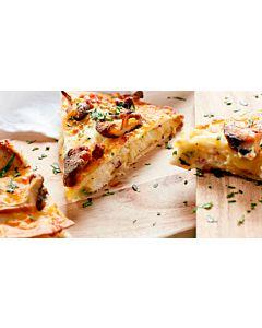 Resepti-Kana-quesadillat mausteisen perunasoseen kanssa