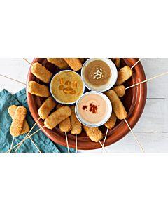 Resepti-Kanapuikot & kolme dippiä