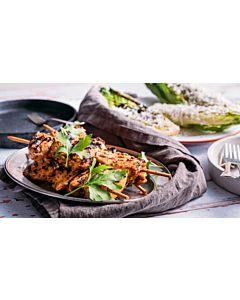 Resepti-Kanavartaat & grillattua salaattia