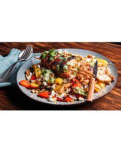 Resepti-Kanavartaat & pähkinäiset grillipaprikat