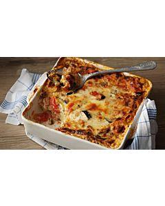 Resepti-Kahden juuston kasvislasagne