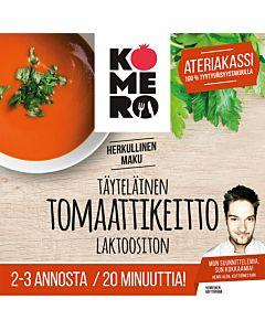KOMERO-PUSSI TÄYTELÄINEN TOMAATTIKEITTO 2:LLE 20MIN LAKTOOSITON