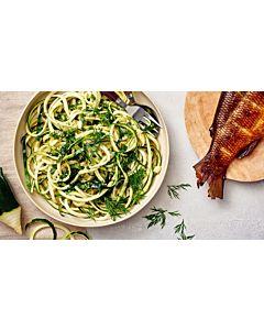 Resepti-Kesäkurpitsaspagetti