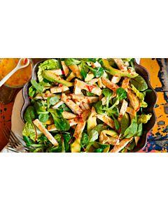 Resepti-Kesäinen kanasalaatti