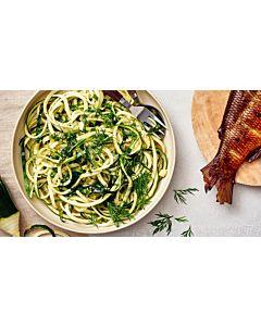Resepti - Kesäkurpitsaspagetti