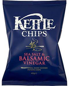 KETTLE CHIPS SEA SALT & BALSAMIC VINEGAR PERUNALASTU 150G