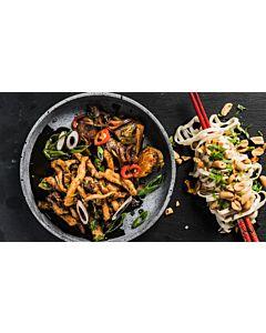Resepti-Paistettua kiinalaista possua
