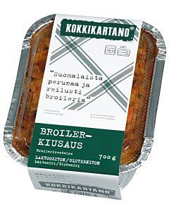 KOKKIKARTANO BROILERKIUSAUS 0.7KG GLUTEENITON
