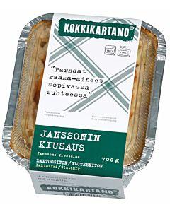 KOKKIKARTANO JANSSONIN KIUSAUS 0.7KG GLUTEENITON