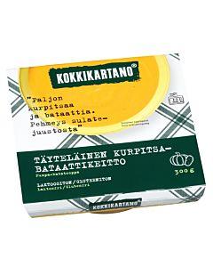 KOKKIKARTANO TÄYTELÄINEN KURPITSA-BATAATTIKEITTO 300G GLUTEENITON