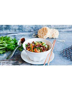Resepti-Naudanlihaa ja kasviksia Chow Mein